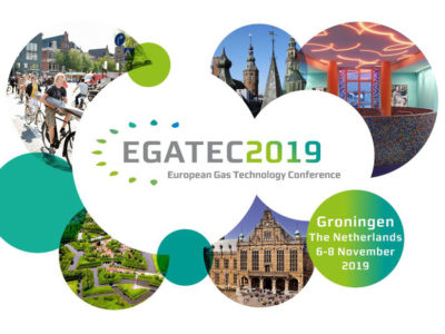 "EGATEC 2019 –  4th European Gas Technology Conference ""Gas in the Future European Energy Mix"", hosted by Gasunie."