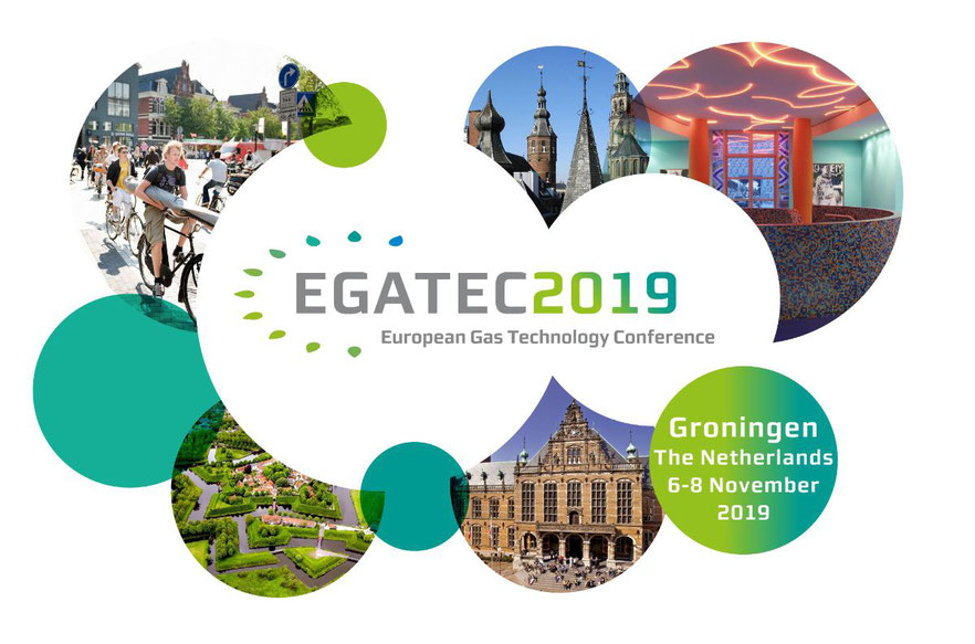 """EGATEC 2019 –  4th European Gas Technology Conference """"Gas in the Future European Energy Mix"""", hosted by Gasunie."""