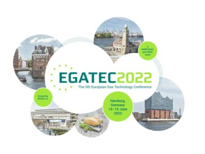 EGATEC 2022 – 5th European Gas Technology Conference, hosted by DVGW.
