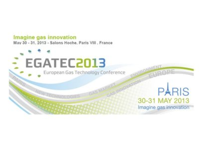 "EGATEC 2013 – 2nd European Gas Technology Conference ""Imagine Gas innovation"", hosted by AFG."