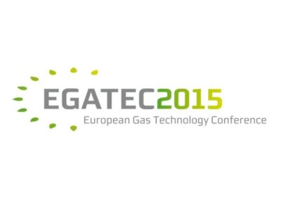"EGATEC 2015 – 3rd European Gas Technology Conference ""Creating the Gas Revolution !"", hosted by ÖVGW."